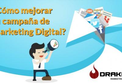 ¿Cómo mejorar tu campaña de Marketing Digital?