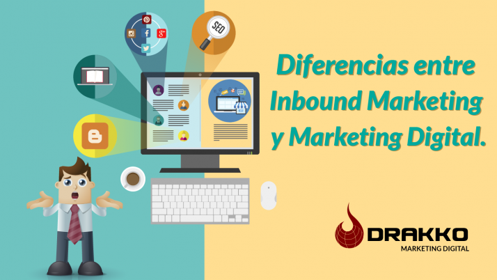 Diferencias entre inbound marketing y marketing digital