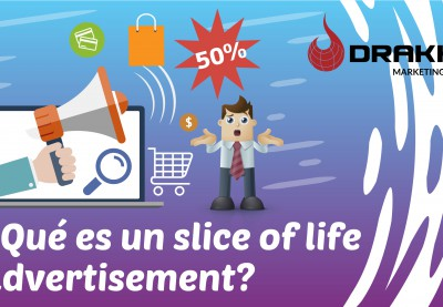 ¿Que es un slice of life advertisement?
