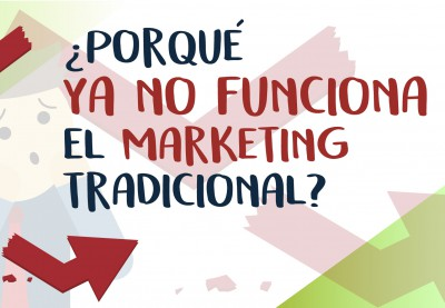 ¿Porque ya no funciona el marketing tradicional?