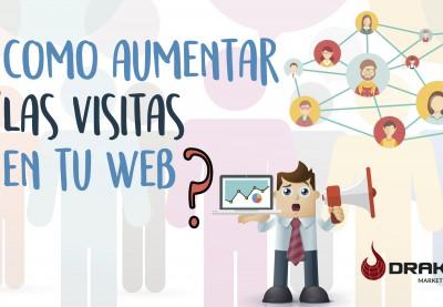 Aumenta las visitas en tu página web
