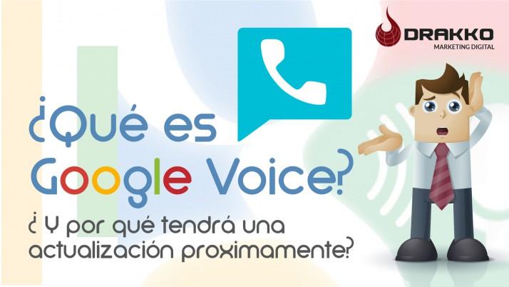 ¿Qué es Google Voice y por qué tendrá una actualización próximamente?