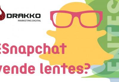 ¿Snapchat vende lentes?