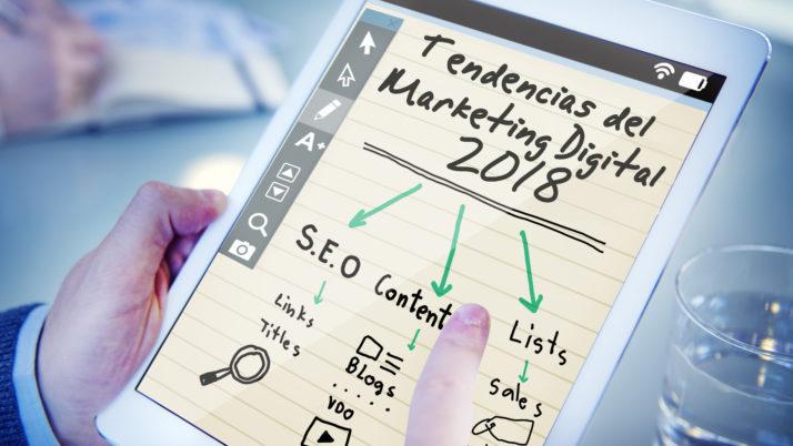 7 tendencias del marketing Digital 2018